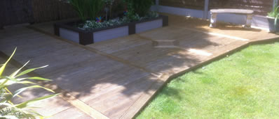composite decking bolton