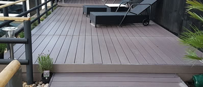 composite decking showroom in bolton